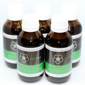 Carbon 60 Olive Oil Australia 5 bottles