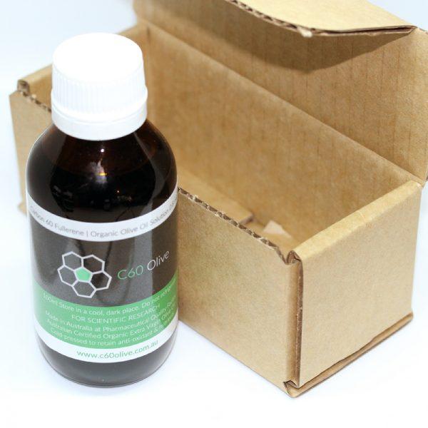 Carbon 60 Olive Oil Australia box